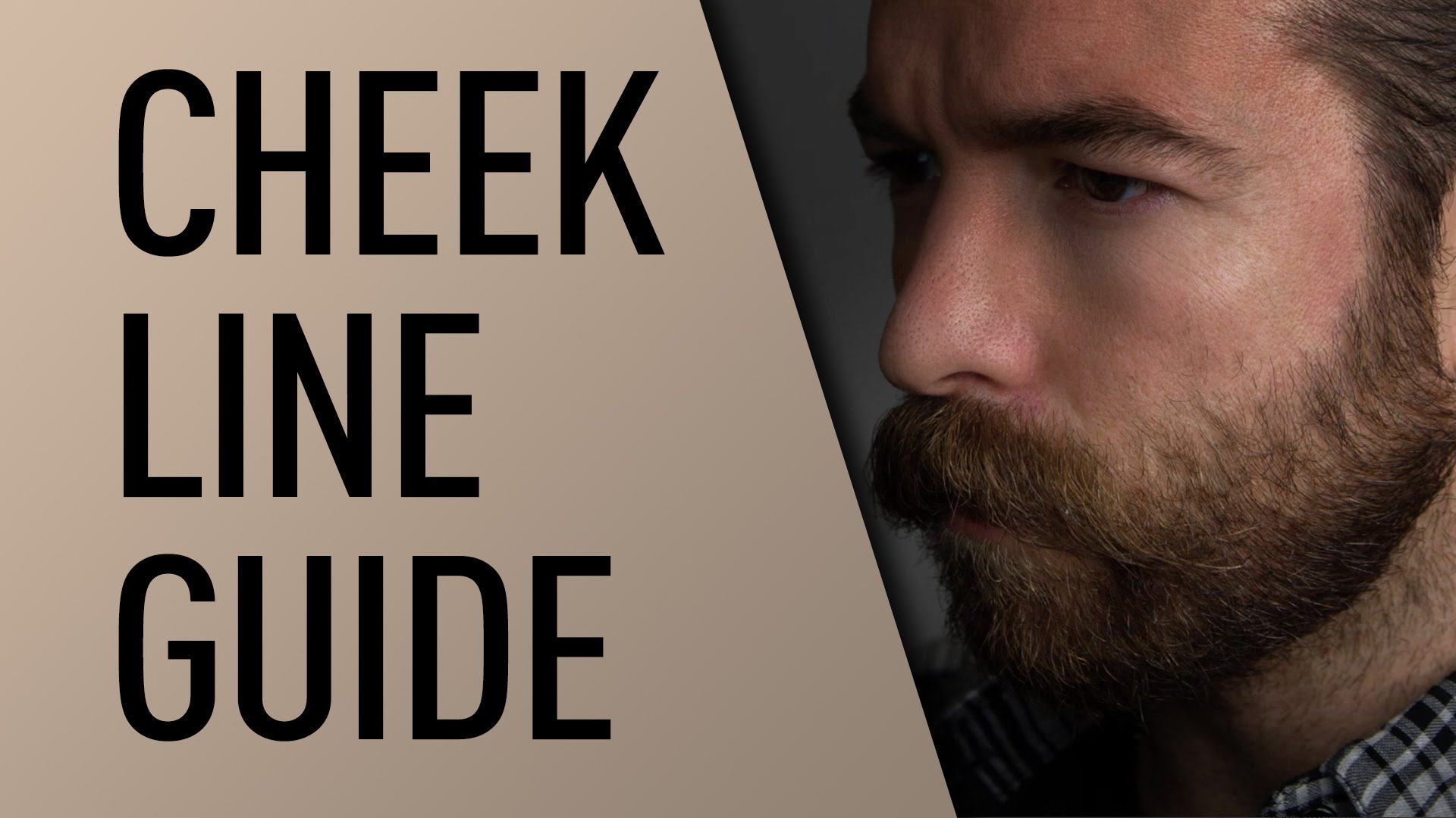How to find your beard's neckline and trim it professionally.